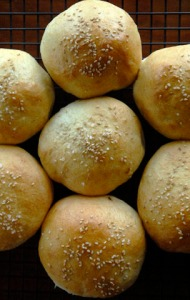 Anpan - a Japanese yeast roll filled with sweet and earthy Anko (a traditional confection made from Azuki beans and sugar).